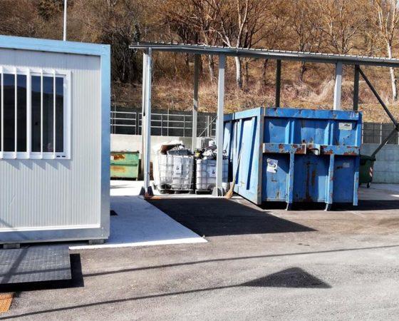 Centro raccolta rifiuti urbani differenziati 2019